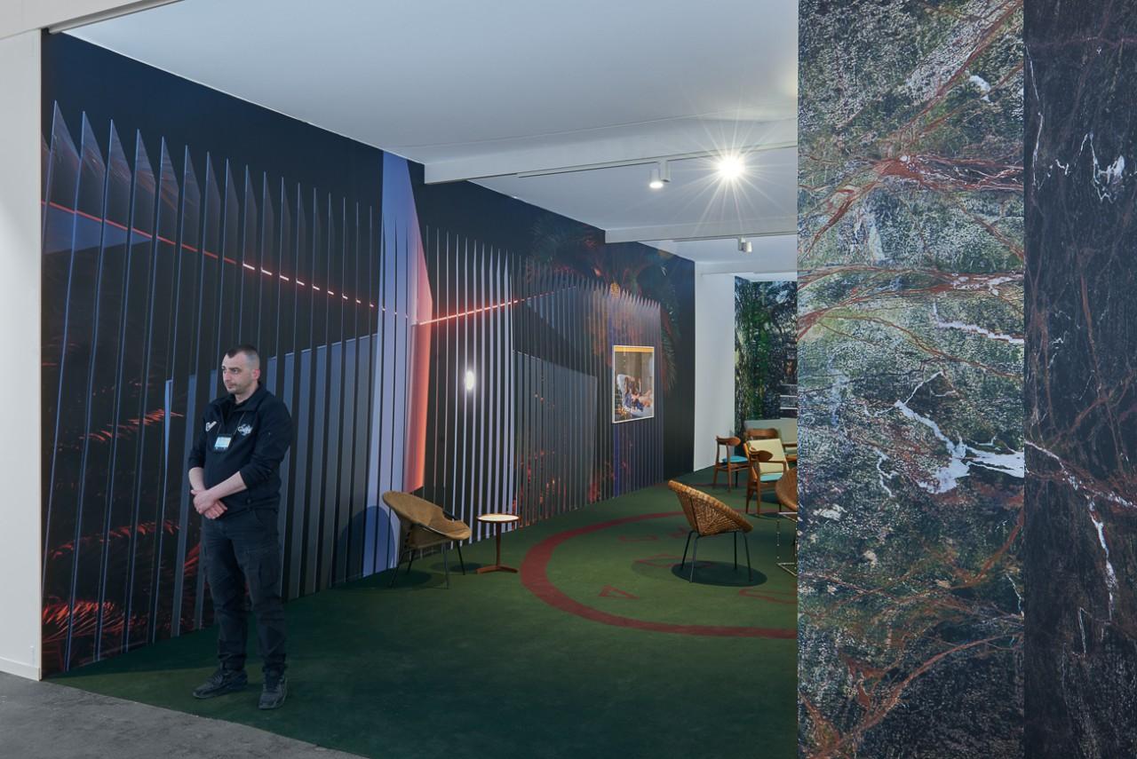 BEN VAN DEN BERGHE Private Eden, VIP Lounge, Art Brussels, 2018