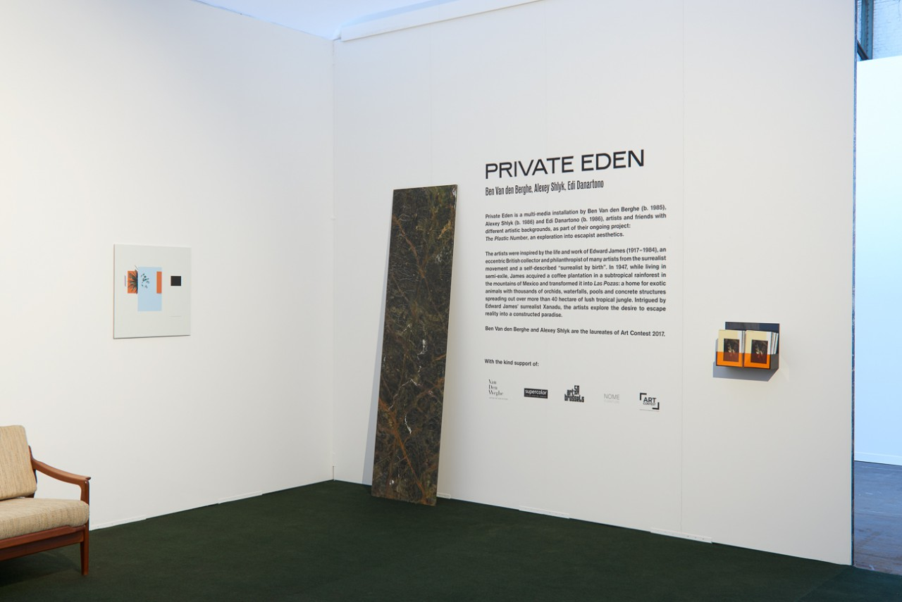 Ben Van den Berghe Private Eden, VIP Lounge, Art Brussels, 2018