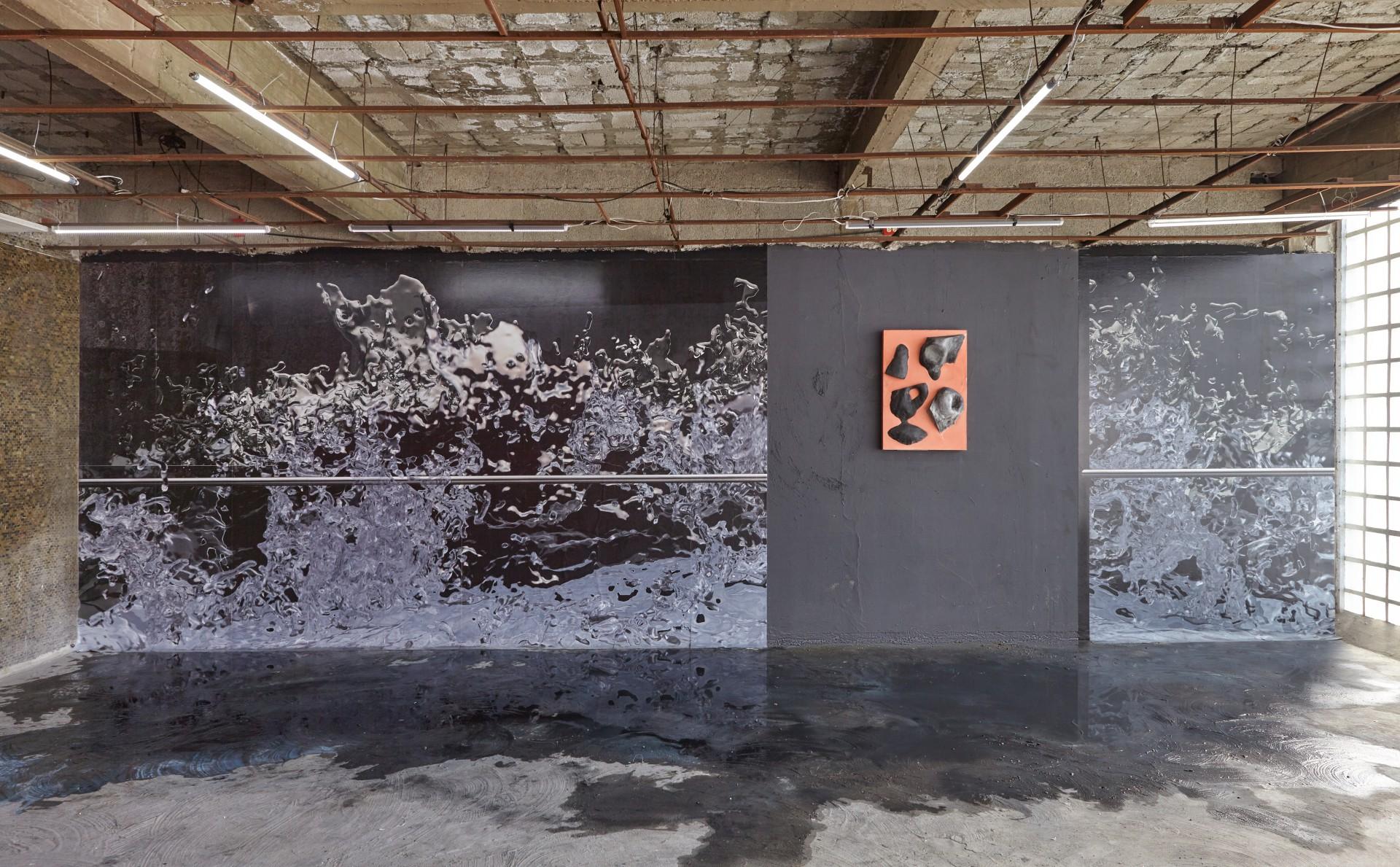 Ben Van den Berghe Freak Wave Platform, El Quinto Piso, Mexico City, 2018