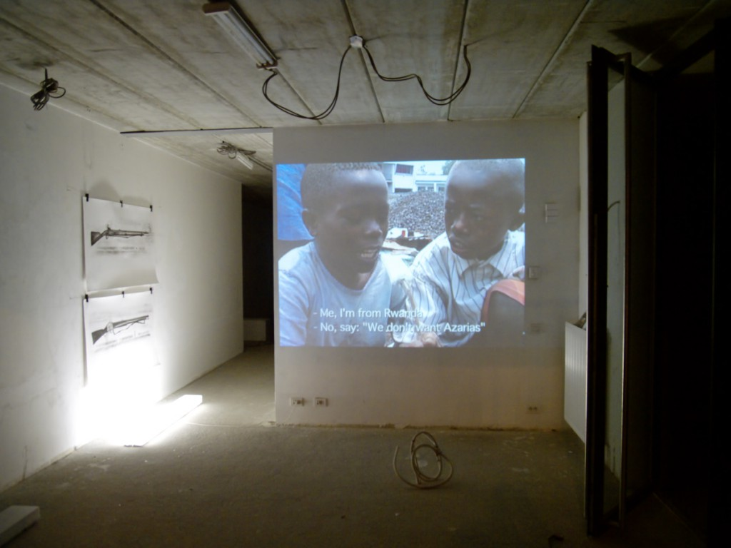 Ben Van den Berghe Conflict Room (curated project), Antwerp, 2010