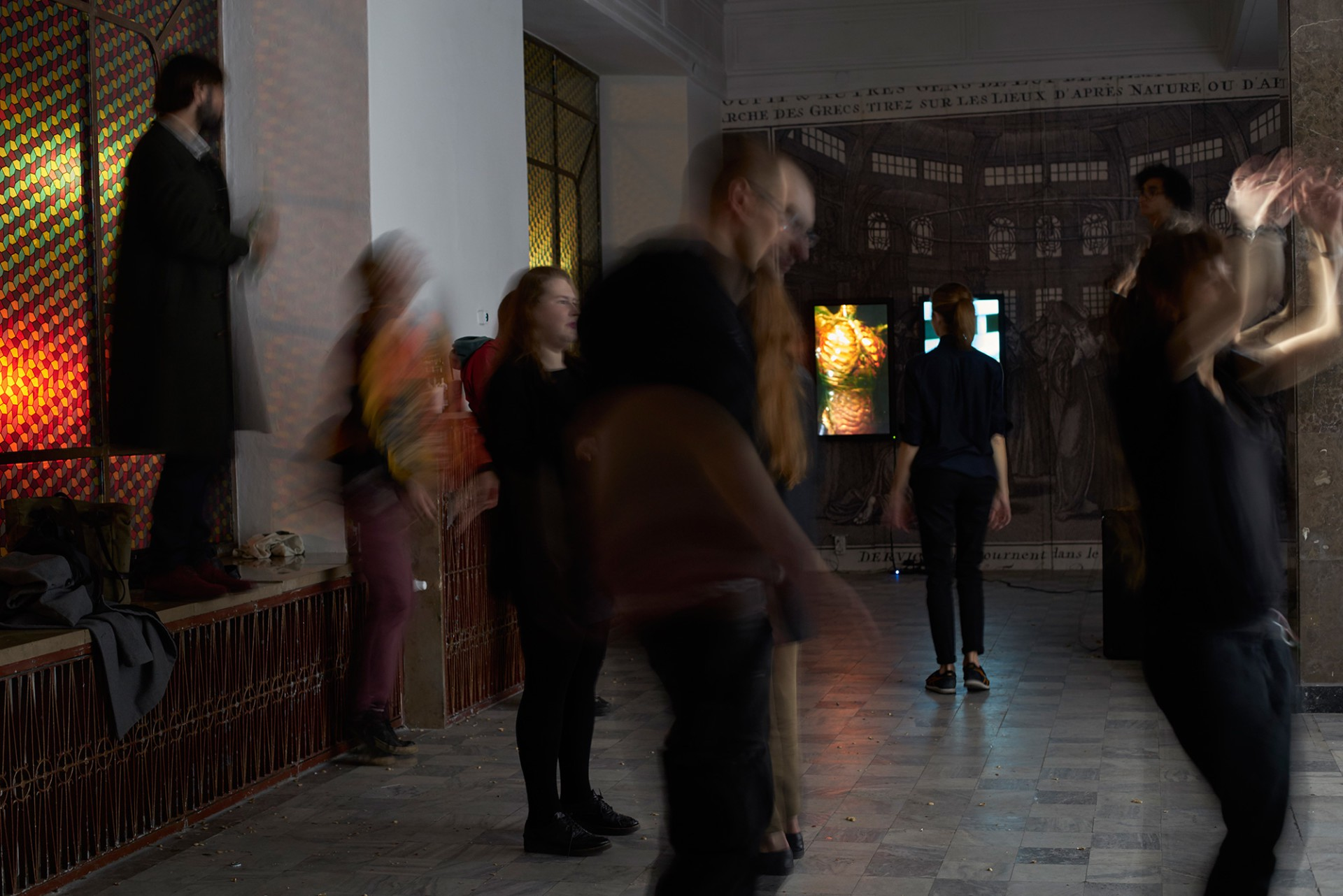 Ben Van den Berghe Infinite Spin, Studio MDM / CCA Warsaw, 2016