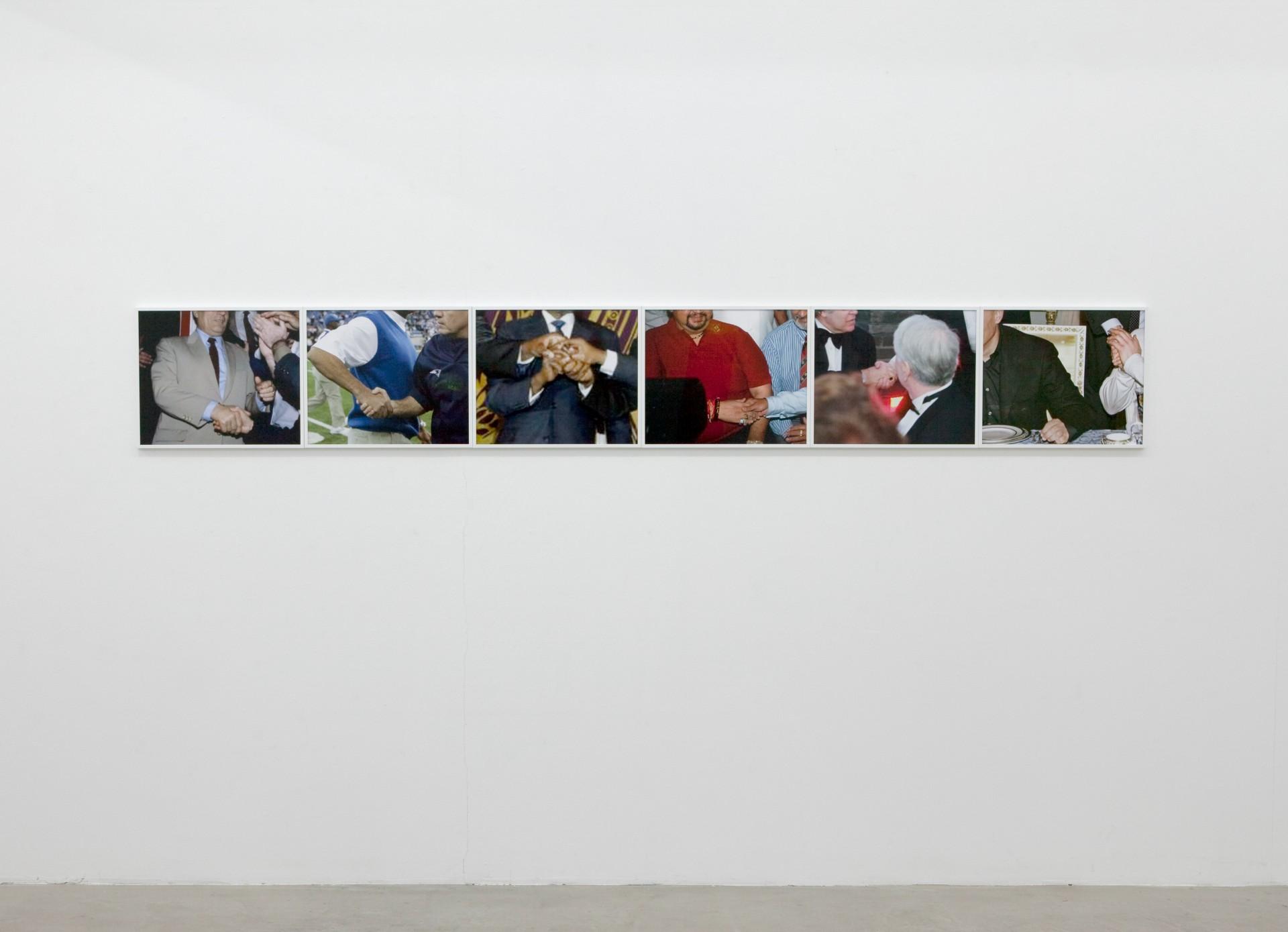 Ben Van den Berghe Handshake Society, Frontviews Gallery, Berlin, 2010