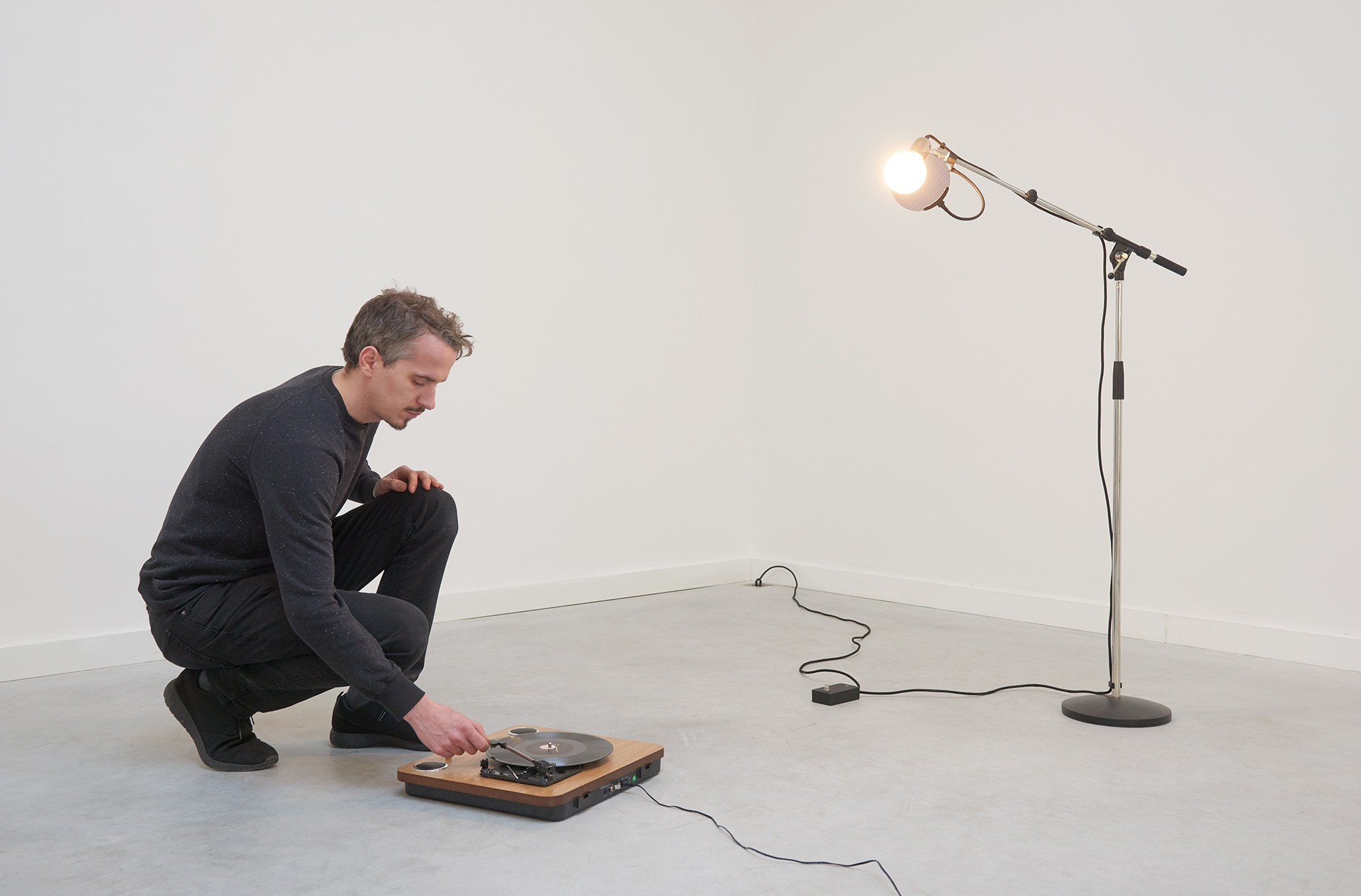 Ben Van den Berghe Reflector (curated project), Antwerp, 2016